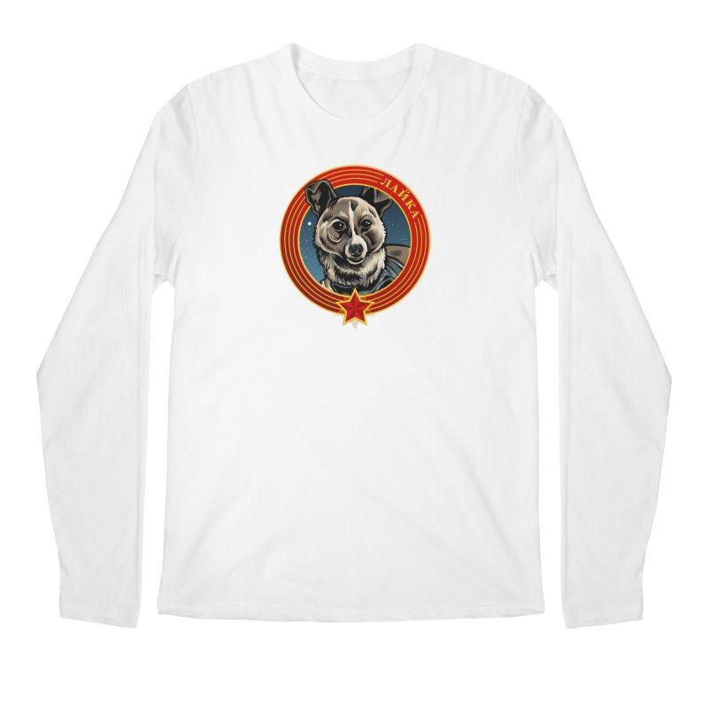 Laika (2019) Men's Regular Longsleeve T-Shirt by Octophant's Artist Shop