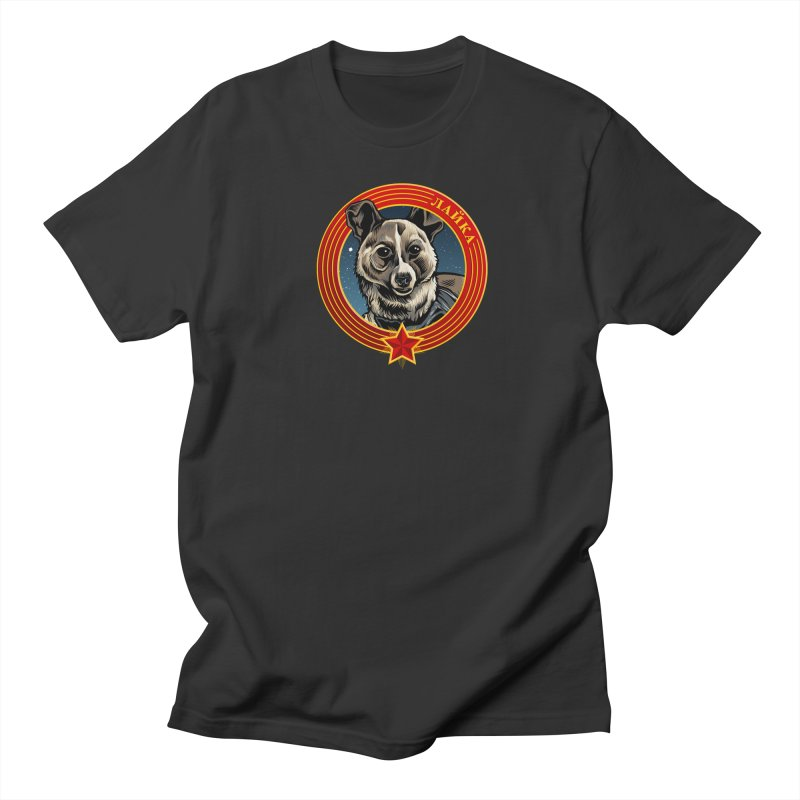 Laika (2019) Men's Regular T-Shirt by Octophant's Artist Shop