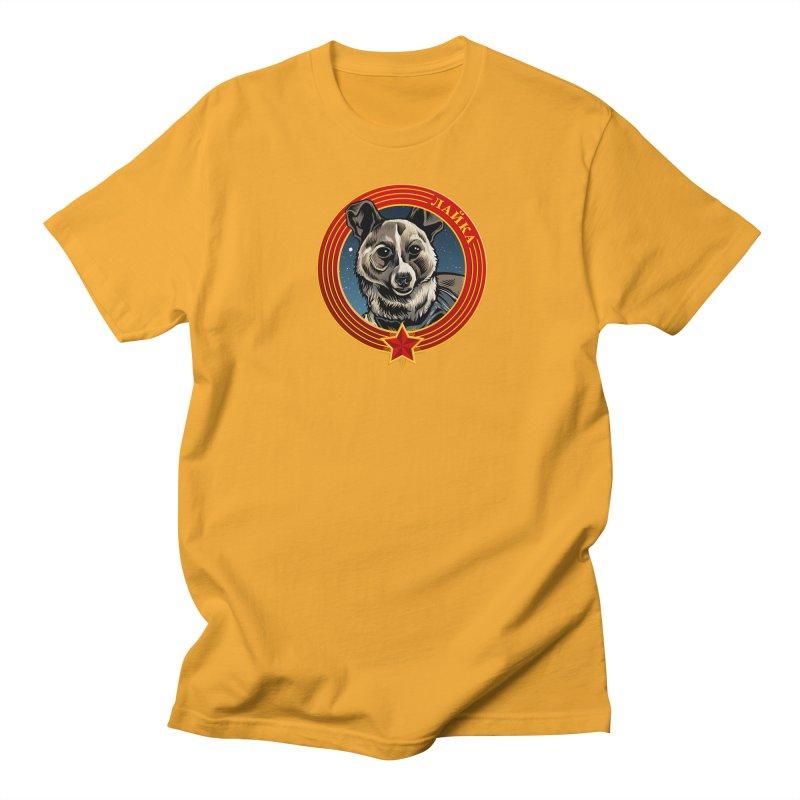 Laika (2019) Men's Regular T-Shirt by Octophant's Artist Shop