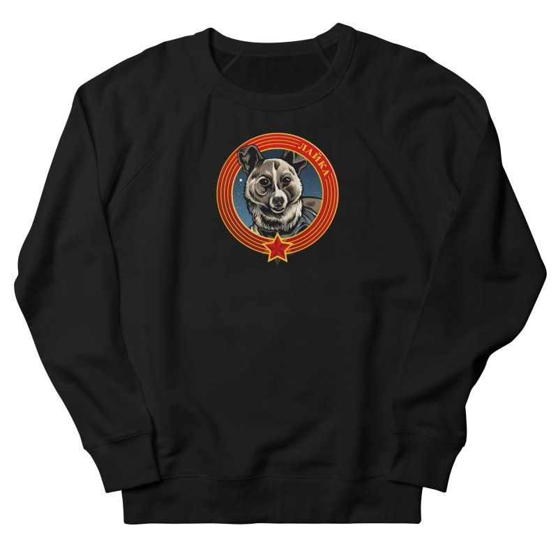 Laika (2019) Women's French Terry Sweatshirt by Octophant's Artist Shop