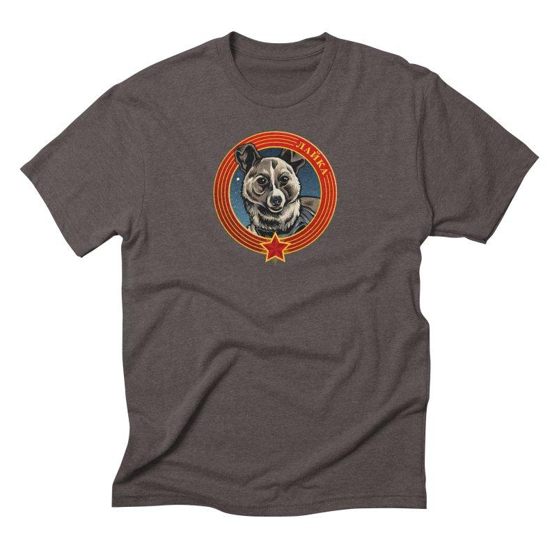 Laika (2019) Men's Triblend T-Shirt by Octophant's Artist Shop