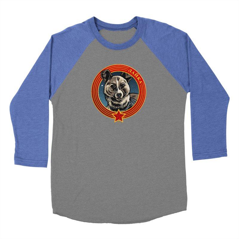 Laika (2019) Men's Baseball Triblend Longsleeve T-Shirt by Octophant's Artist Shop