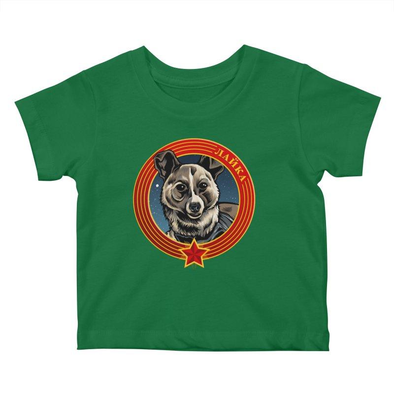 Laika (2019) Kids Baby T-Shirt by Octophant's Artist Shop
