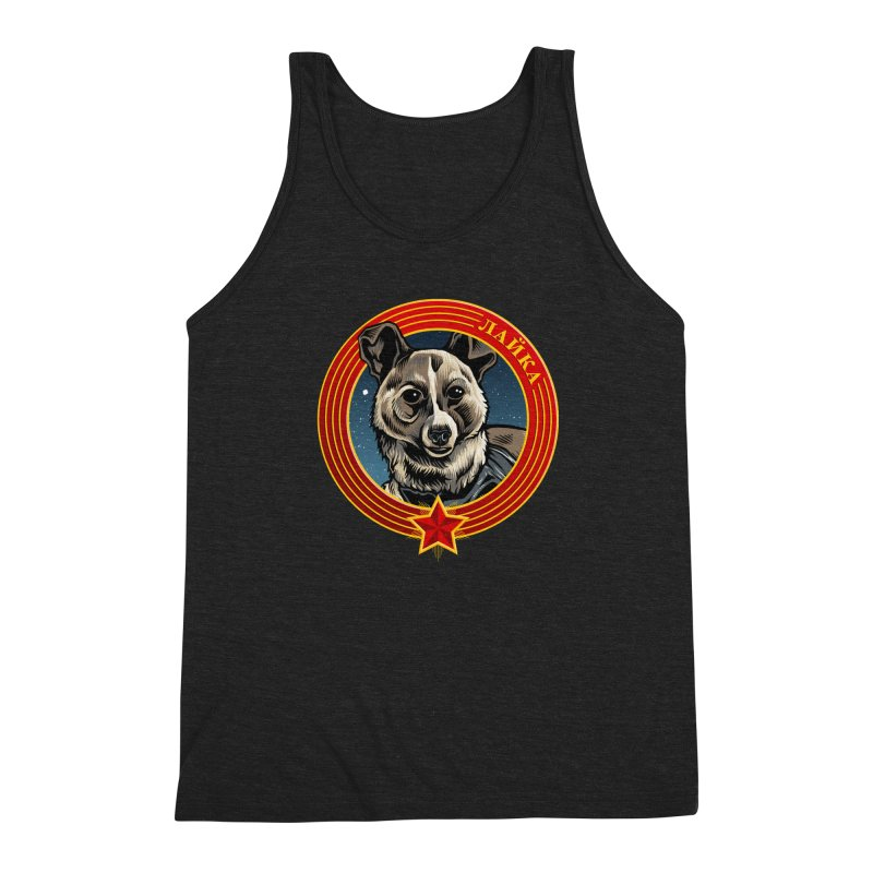 Laika (2019) Men's Triblend Tank by Octophant's Artist Shop