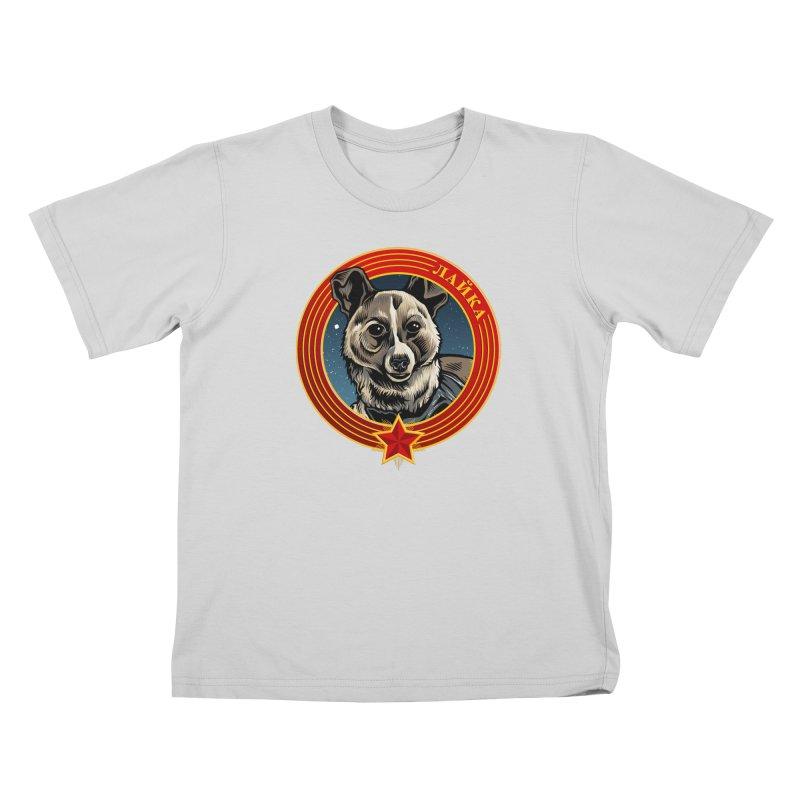 Laika (2019) Kids T-Shirt by Octophant's Artist Shop