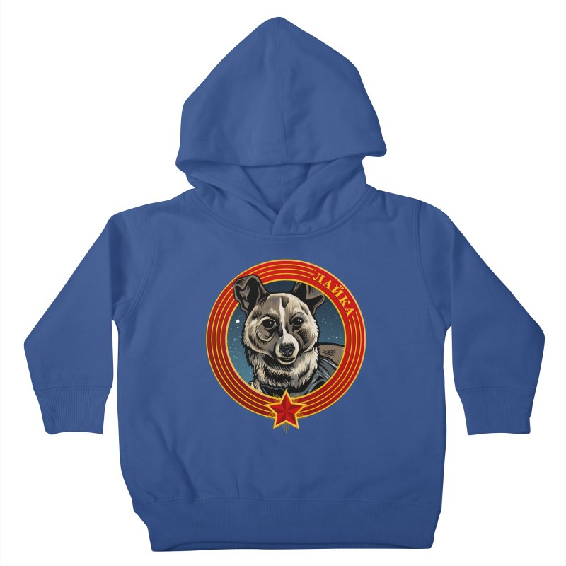 Laika (2019) Kids Toddler Pullover Hoody by Octophant's Artist Shop