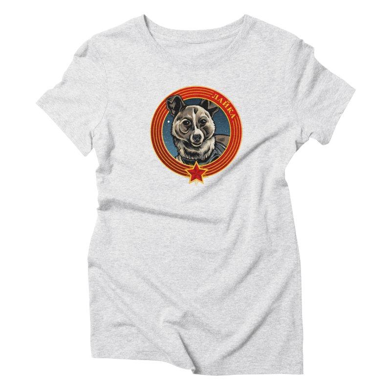 Laika (2019) Women's Triblend T-Shirt by Octophant's Artist Shop