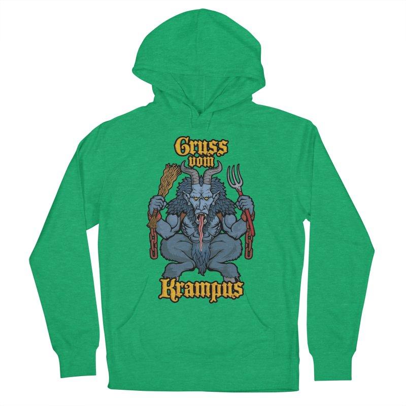 Gruss vom Krampus Men's Pullover Hoody by Octophant's Artist Shop
