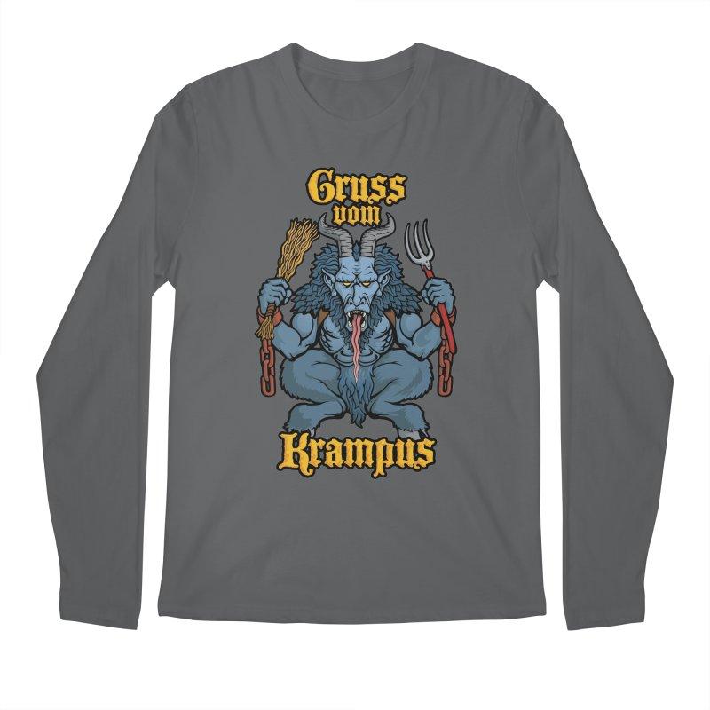Gruss vom Krampus Men's Longsleeve T-Shirt by Octophant's Artist Shop