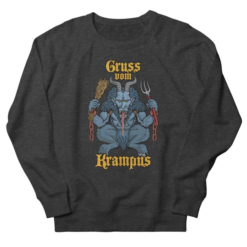 Gruss vom Krampus Women's Sweatshirt by Octophant's Artist Shop