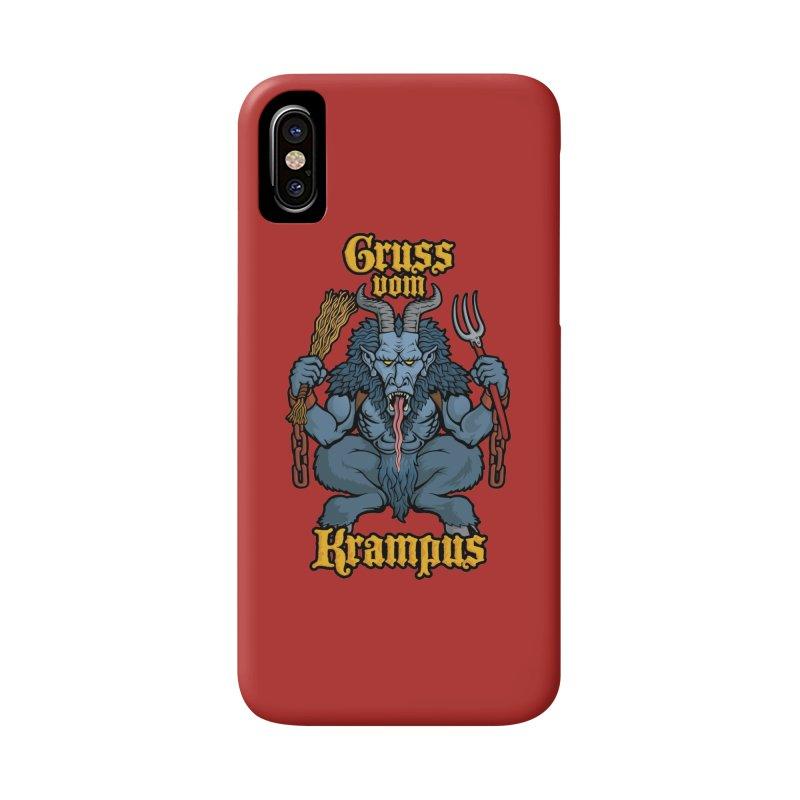 Gruss vom Krampus Accessories Phone Case by Octophant's Artist Shop
