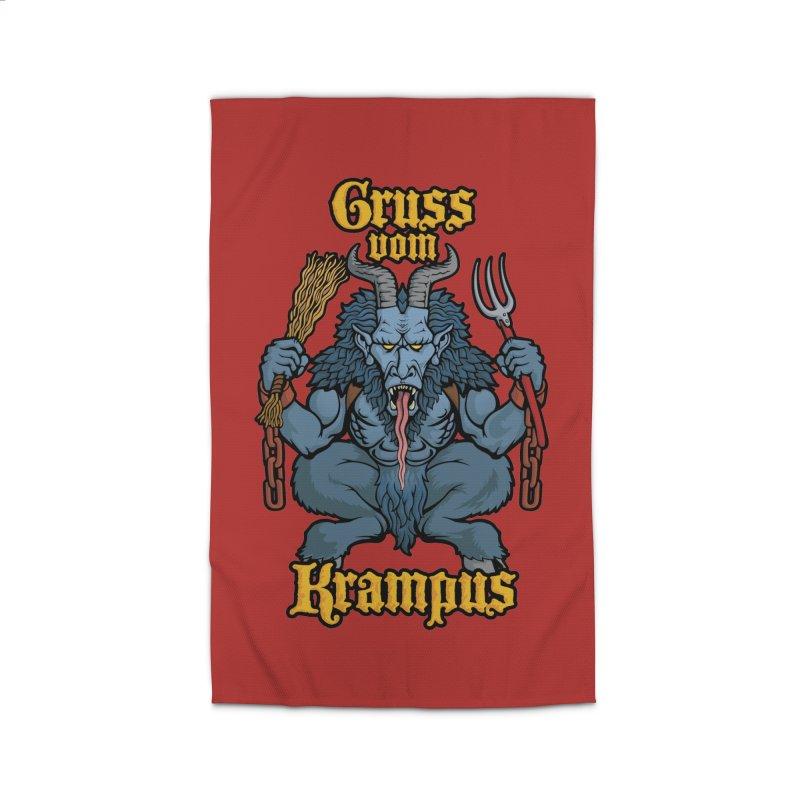 Gruss vom Krampus Home Rug by Octophant's Artist Shop