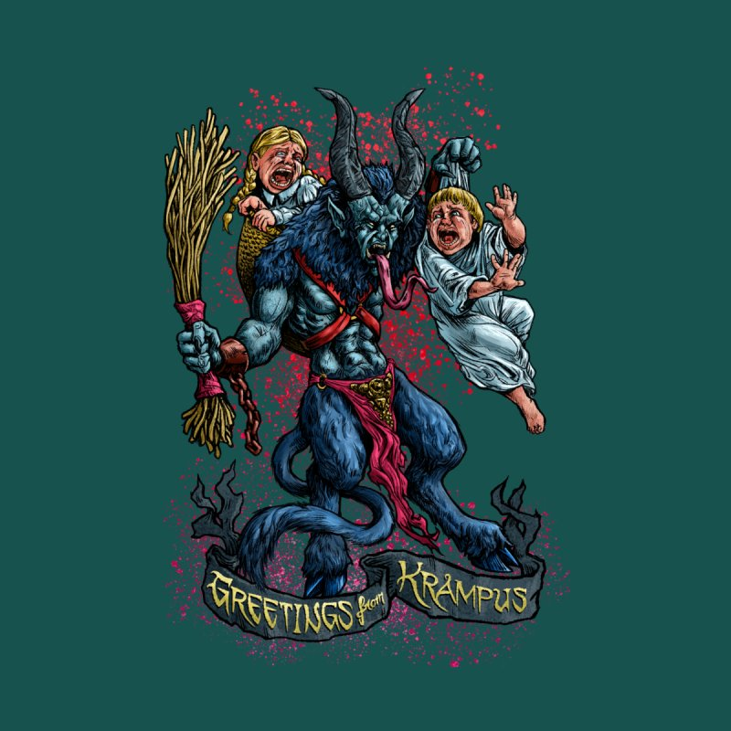 Greetings from Krampus (2019) by Octophant's Artist Shop