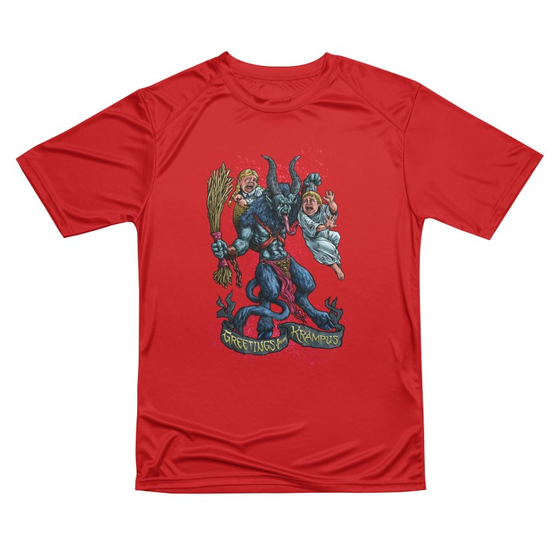 Greetings from Krampus (2019) Women's Performance Unisex T-Shirt by Octophant's Artist Shop
