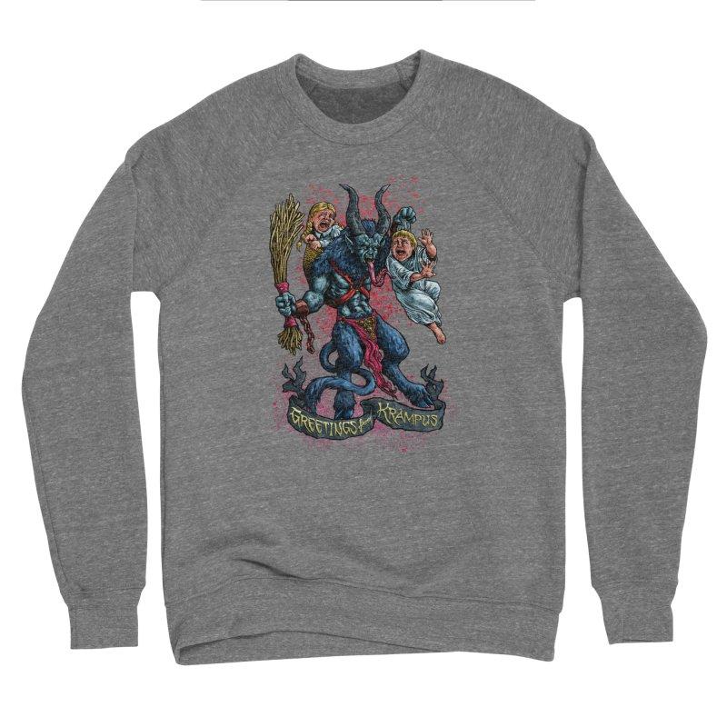 Greetings from Krampus (2019) Women's Sponge Fleece Sweatshirt by Octophant's Artist Shop