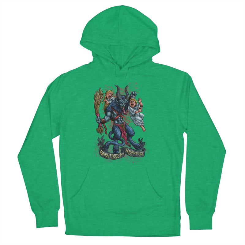 Greetings from Krampus (2019) Men's French Terry Pullover Hoody by Octophant's Artist Shop