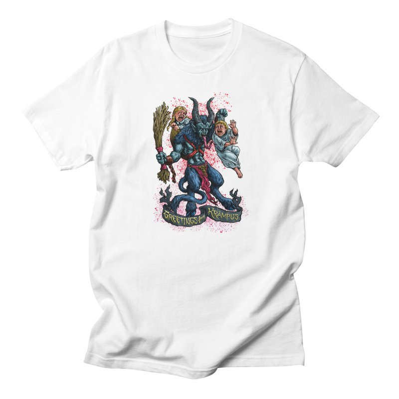 Greetings from Krampus (2019) Men's Regular T-Shirt by Octophant's Artist Shop