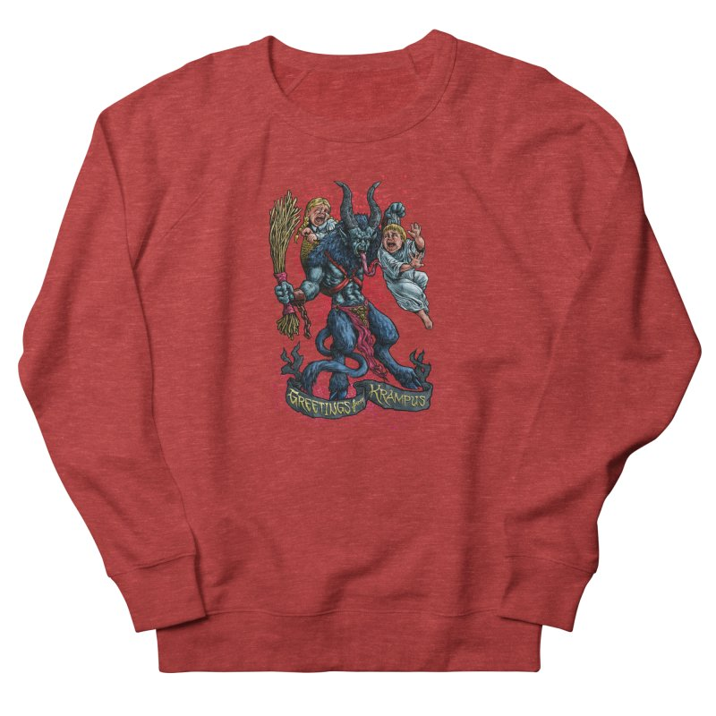 Greetings from Krampus (2019) Women's French Terry Sweatshirt by Octophant's Artist Shop