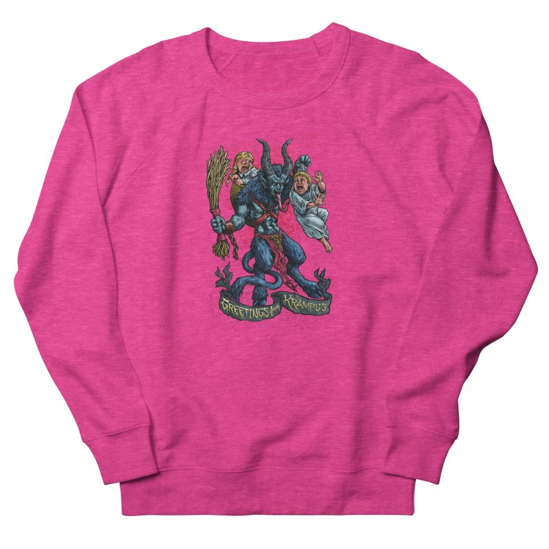 Greetings from Krampus (2019) Men's French Terry Sweatshirt by Octophant's Artist Shop