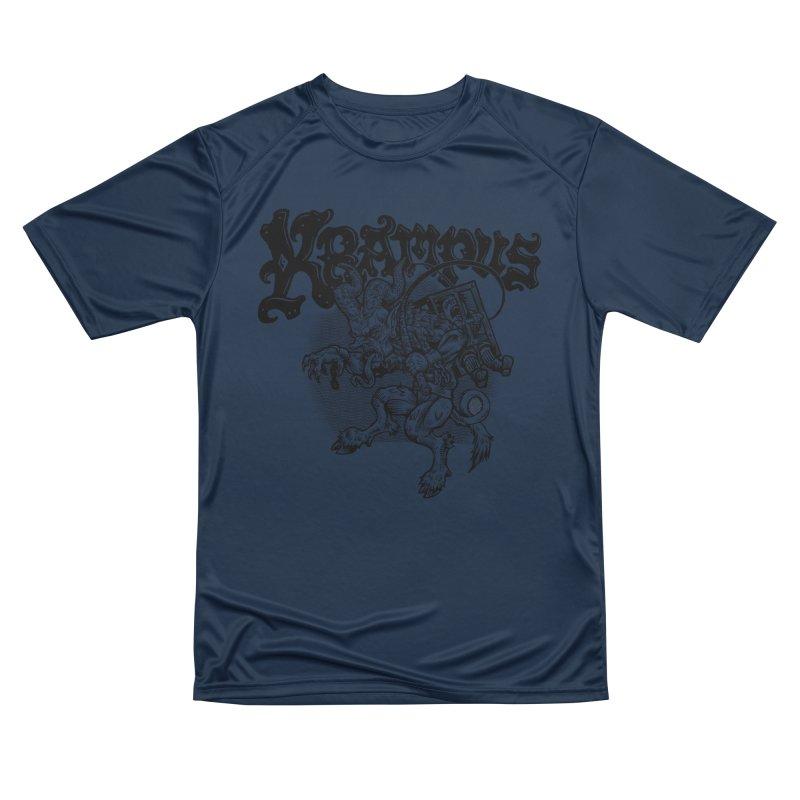Krampus (Black Print) Men's Performance T-Shirt by Octophant's Artist Shop