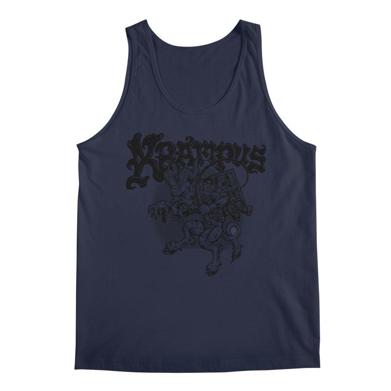 Krampus (Black Print) Men's Regular Tank by Octophant's Artist Shop