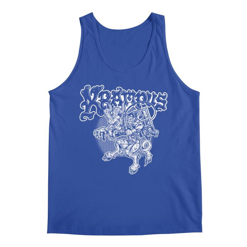Krampus (White Print) Men's Regular Tank by Octophant's Artist Shop