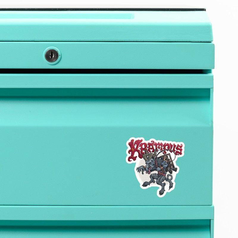 Krampus (Color) Accessories Magnet by Octophant's Artist Shop