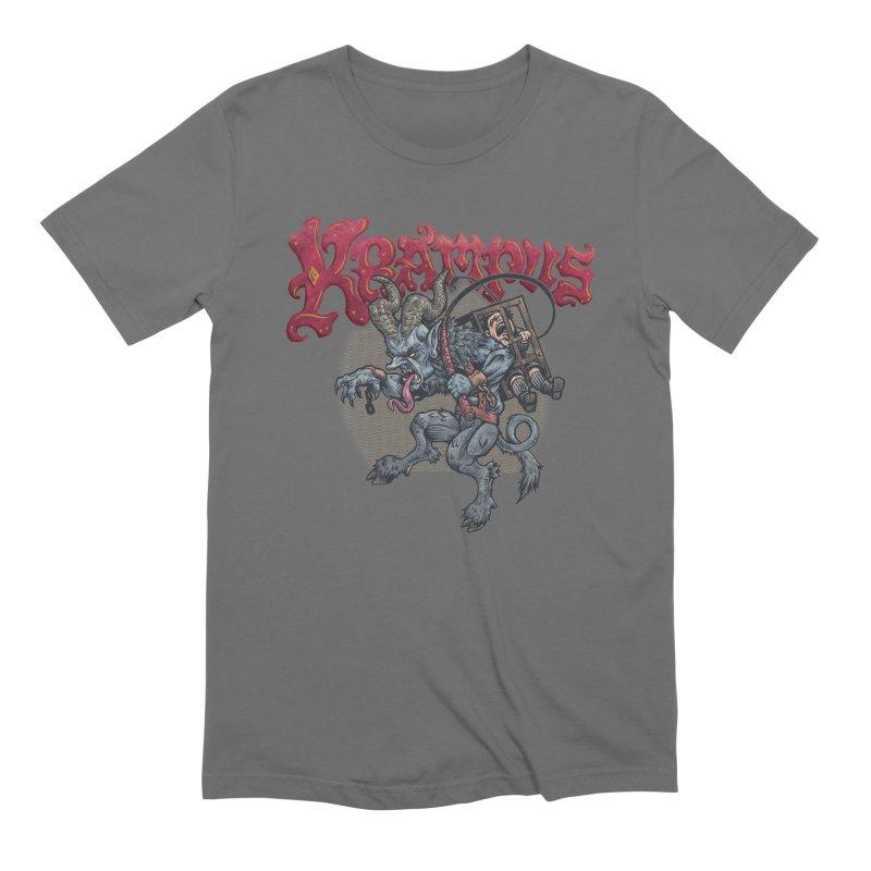 Krampus (Color) Men's T-Shirt by Octophant's Artist Shop