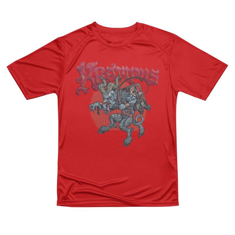Krampus (Color) Men's Performance T-Shirt by Octophant's Artist Shop