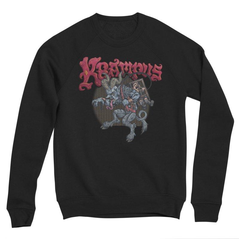 Krampus (Color) Men's Sponge Fleece Sweatshirt by Octophant's Artist Shop