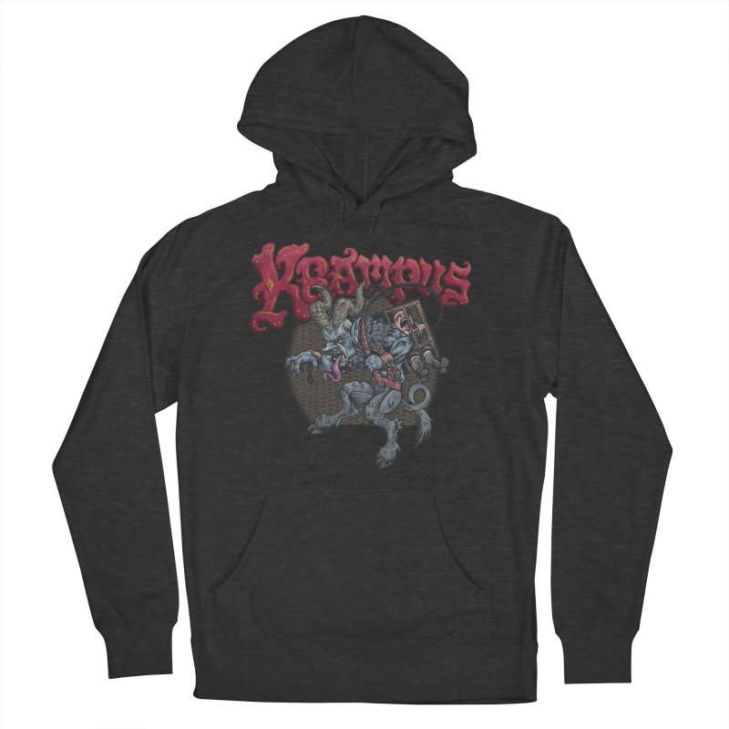 Krampus (Color) Women's French Terry Pullover Hoody by Octophant's Artist Shop