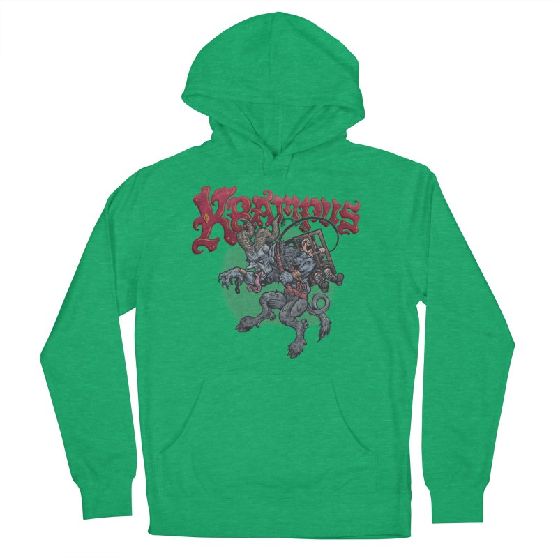 Krampus (Color) Men's French Terry Pullover Hoody by Octophant's Artist Shop