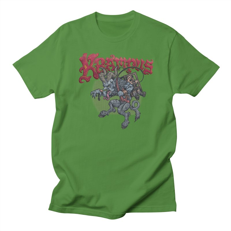 Krampus (Color) Men's Regular T-Shirt by Octophant's Artist Shop