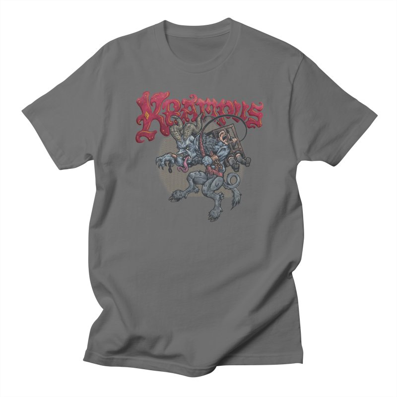 Krampus (Color) Men's T-Shirt by Octophant's Artist Shop
