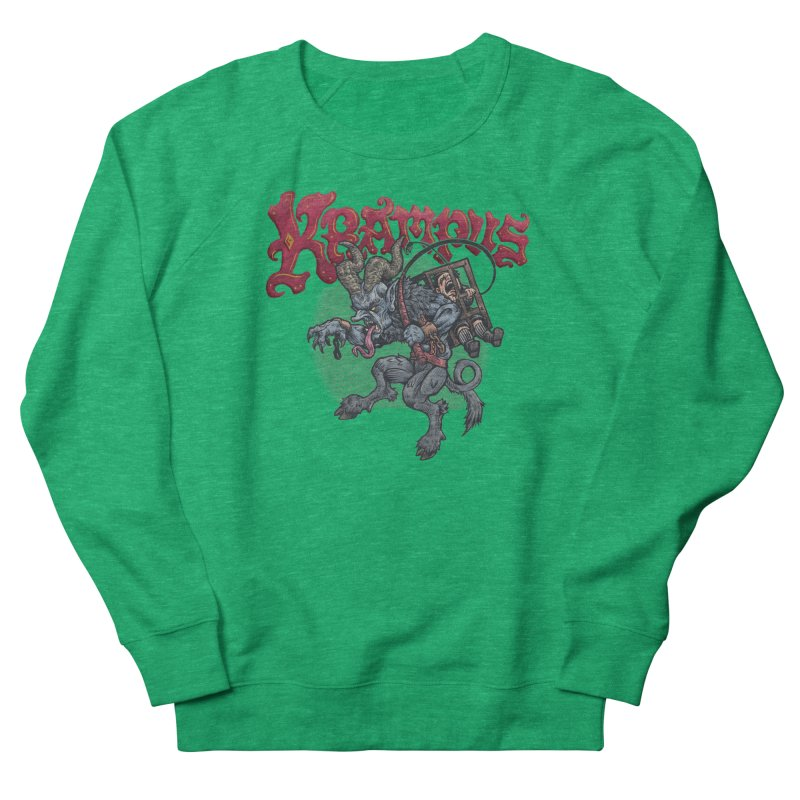 Krampus (Color) Women's Sweatshirt by Octophant's Artist Shop
