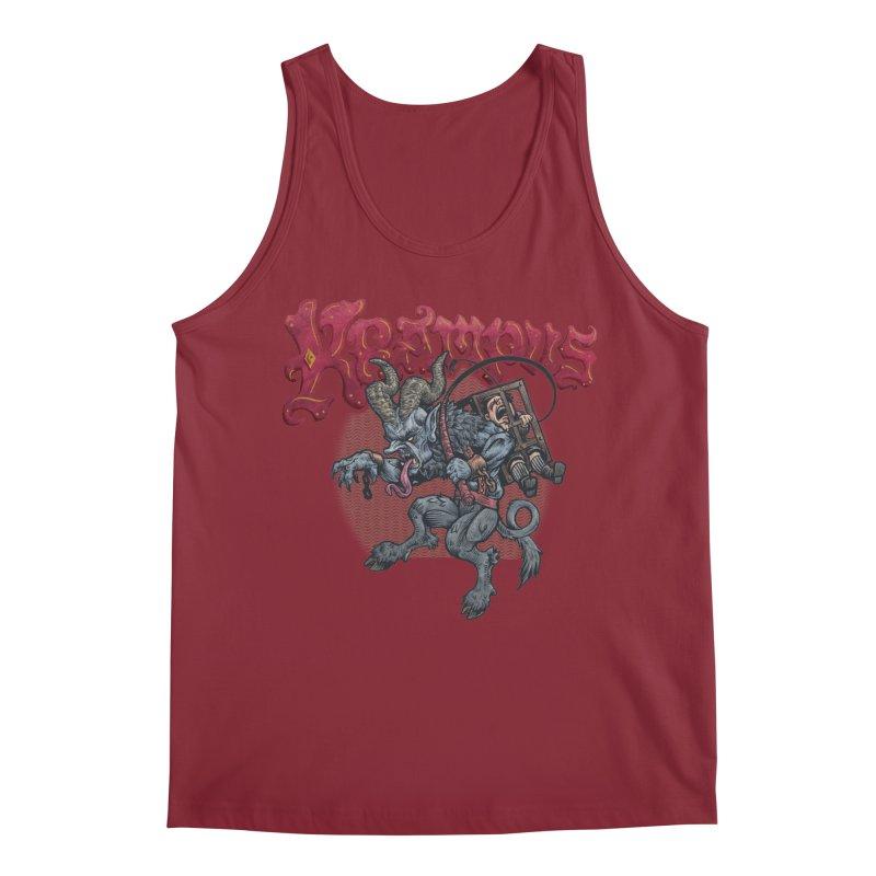 Krampus (Color) Men's Regular Tank by Octophant's Artist Shop