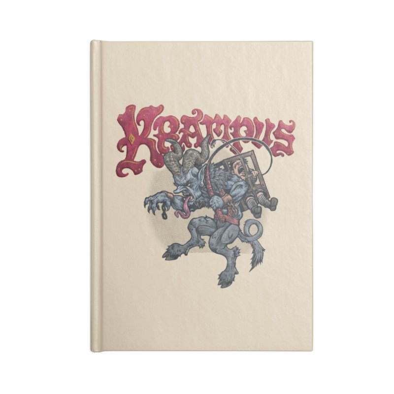 Krampus (Color) Accessories Notebook by Octophant's Artist Shop
