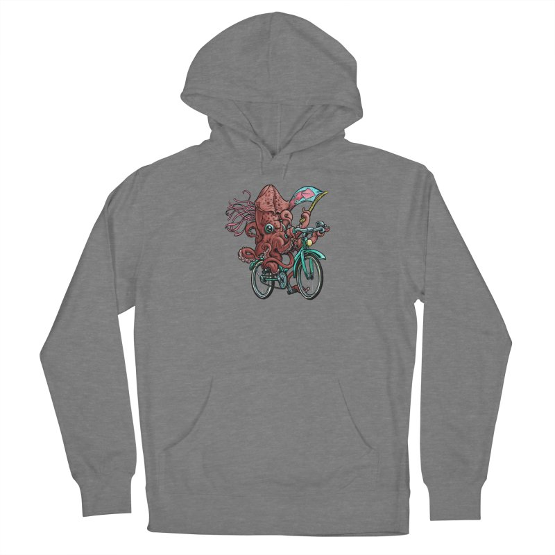 Fixie Squid Women's Pullover Hoody by Octophant's Artist Shop