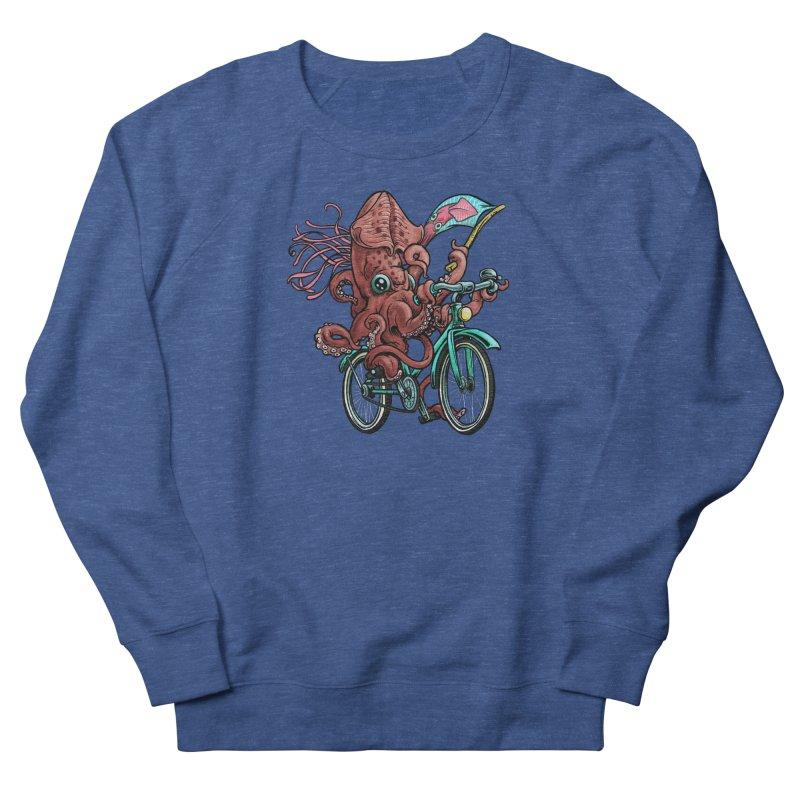 Fixie Squid Men's Sweatshirt by Octophant's Artist Shop