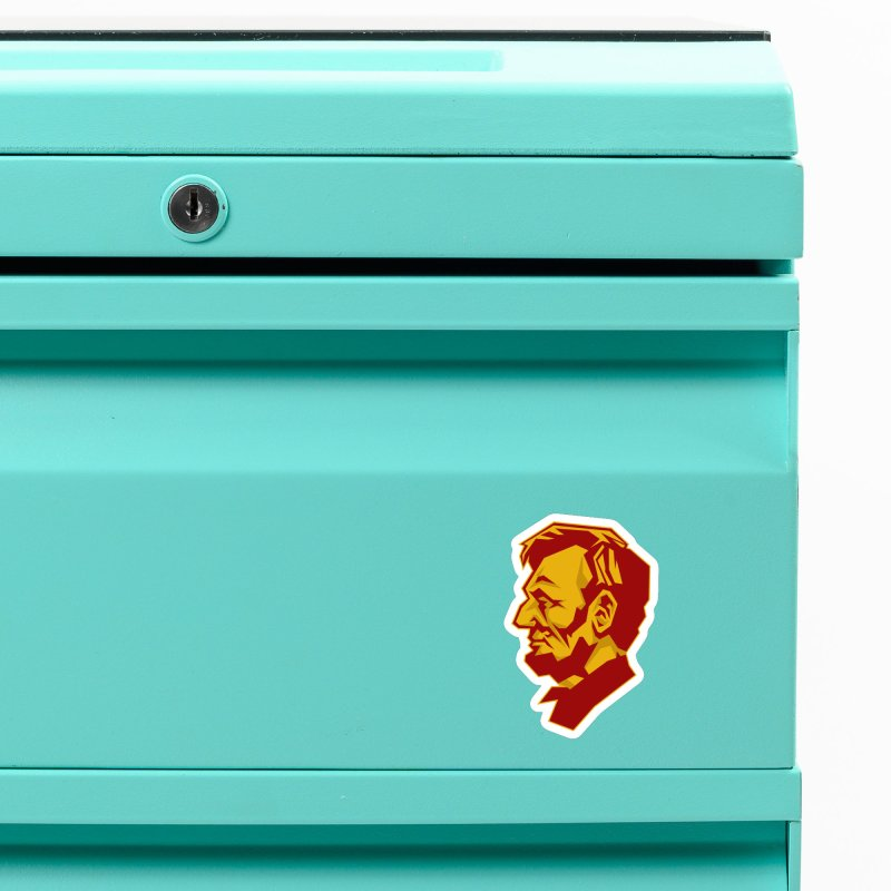 Comrade Lincoln Accessories Magnet by Octophant's Artist Shop