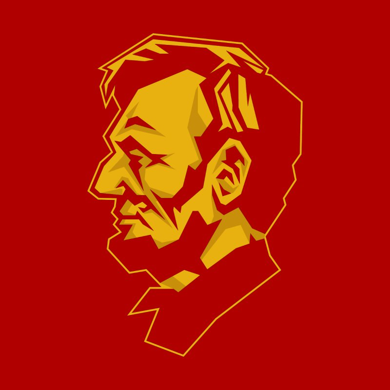 Comrade Lincoln Kids Longsleeve T-Shirt by Octophant's Artist Shop