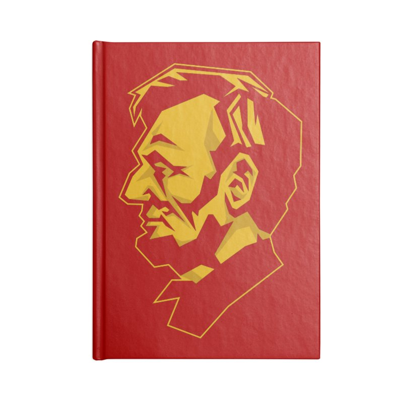 Comrade Lincoln Accessories Notebook by Octophant's Artist Shop