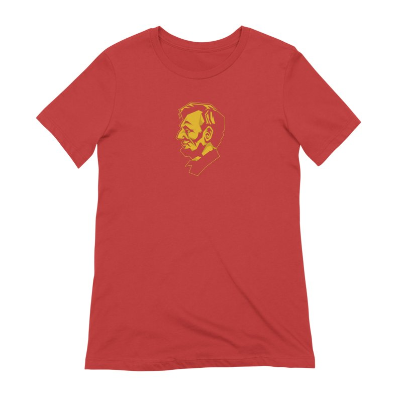Comrade Lincoln Women's Extra Soft T-Shirt by Octophant's Artist Shop