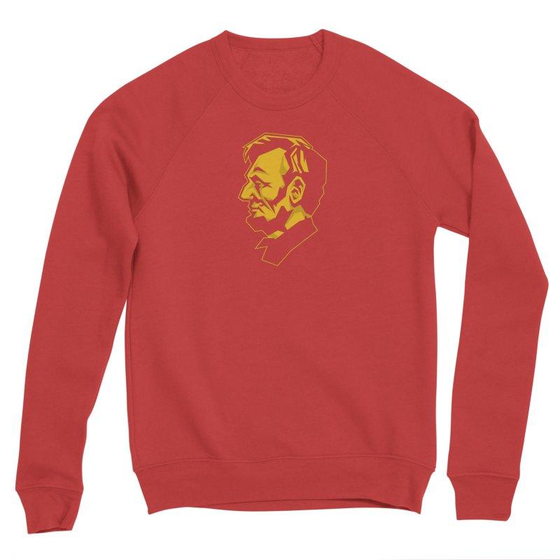 Comrade Lincoln Men's Sponge Fleece Sweatshirt by Octophant's Artist Shop