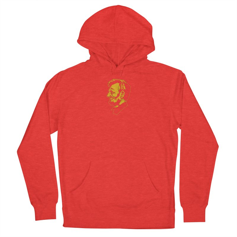 Comrade Lincoln Women's Pullover Hoody by Octophant's Artist Shop