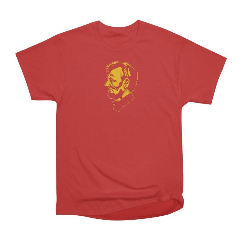 Comrade Lincoln Men's Heavyweight T-Shirt by Octophant's Artist Shop