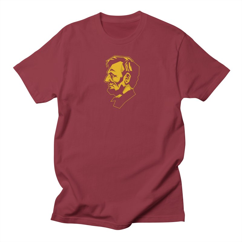 Comrade Lincoln Men's Regular T-Shirt by Octophant's Artist Shop