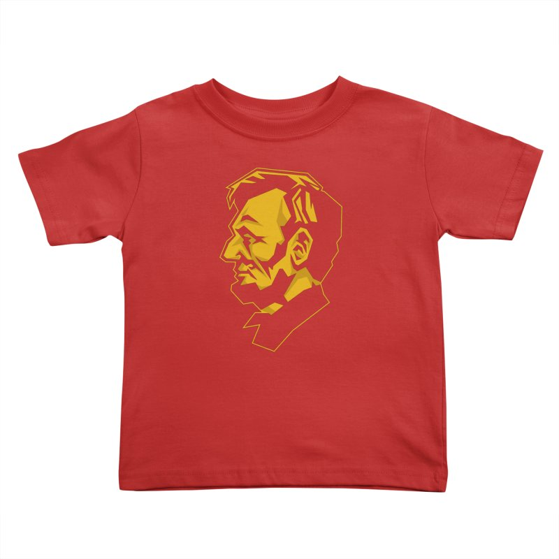 Comrade Lincoln Kids Toddler T-Shirt by Octophant's Artist Shop