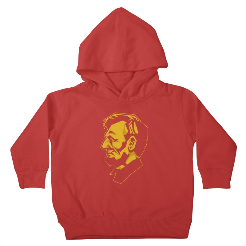 Comrade Lincoln Kids Toddler Pullover Hoody by Octophant's Artist Shop