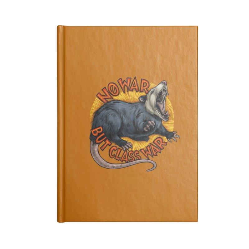 Class War Possum Accessories Notebook by Octophant's Artist Shop